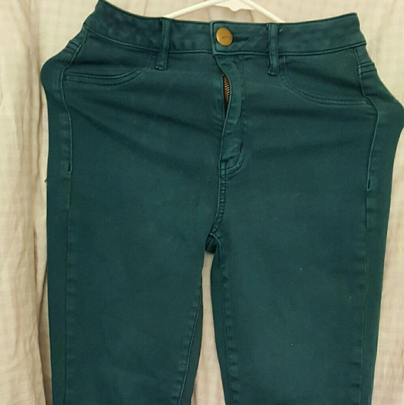 Find great deals on eBay for used american eagle jeans. Shop with confidence. Skip to main content. eBay: Selected category Clothing, Shoes & Accessories. Women's Clothing; Men's Clothing; Kids' Clothing, Shoes & Accs American Eagle womens jeans size 4 short kick boot cut cotton blend mid rise. American Eagle Outfitters · 4.