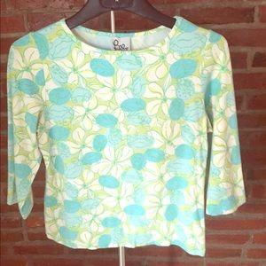 Lilly Pulitzer 3/4 sleeve shirt - size M