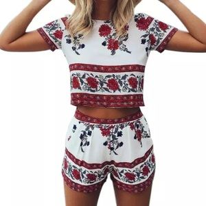 LF Other - HOST PICK💓NWT 2 piece romper!!
