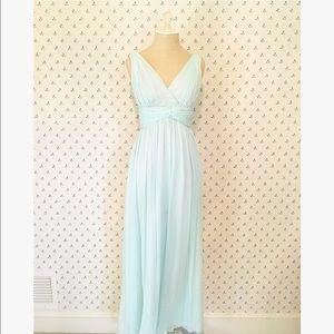 Donna Morgan Dresses & Skirts - Donna Morgan Teal Chiffon Bridesmaid Dress