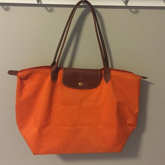 Longchamp Handbags - Large Longchamp Le Pliage Tote Bag 3d8e606aa76f4