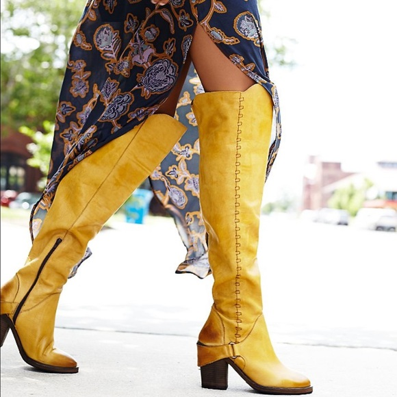 38% off Free People Shoes - Free People Braxton over the knee ...
