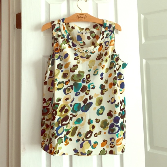 Talbots Tops - Talbots sleeveless blouse size M PETITE