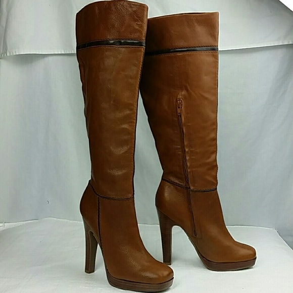 28bc0d56c44 New Jessica Simpson brown knee high boots 7.5 B
