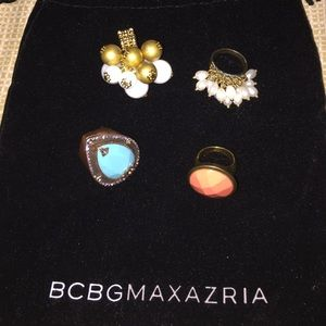 Preowned BCBG Maxazria Rings