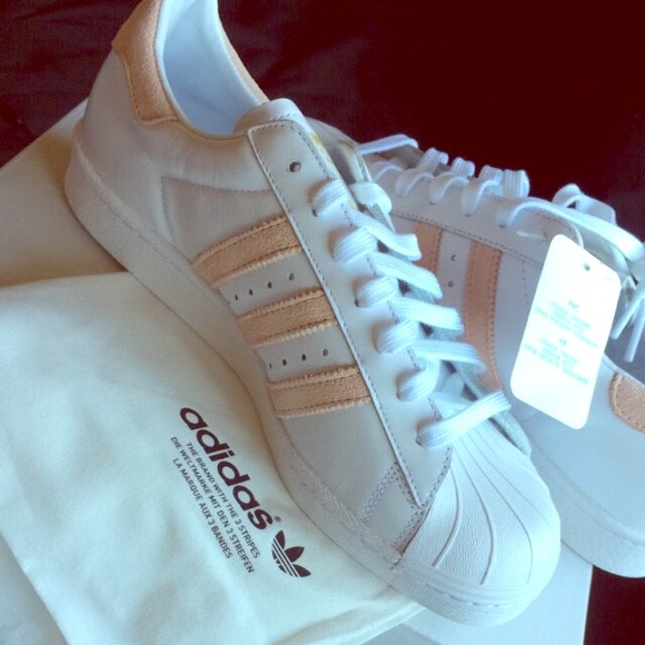 adidas superstar rosa light streifen