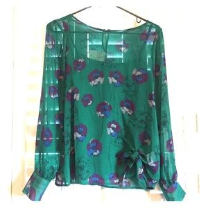 Floral Blouse Small