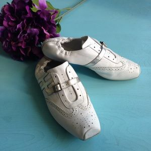 Hogan Shoes - Hogan Italy Buckle Slip On Sneaker Kicks