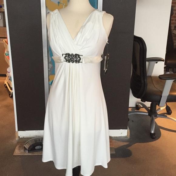 Sears formal wear Dresses | White Formal Dress | Poshmark
