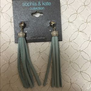 Sea tassel earring
