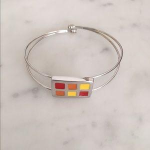 Color-blocked Bracelet