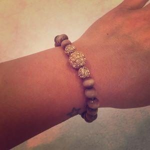 Trendy beaded bracelet
