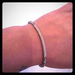 Trendy bling beaded bracelet