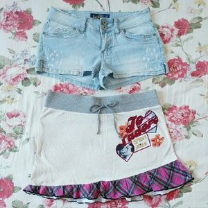 Angels Dresses & Skirts - 2for1 Denim Shorts and Skirts Set