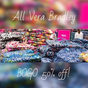 Vera Bradley BOGO 50% off in my closet