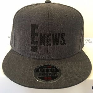 E NEWS! baseball cap, NWOT, never worn