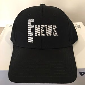 E NEWS! baseball cap, NWOT, never worn.