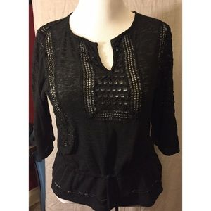 Boho top by Lucky Brand