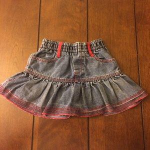 Catimini Other - Flash sale! Catimini denim skirt