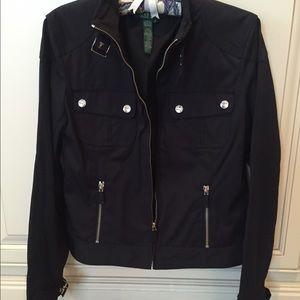Ralph Lauren nylon motorcycle jacket size S