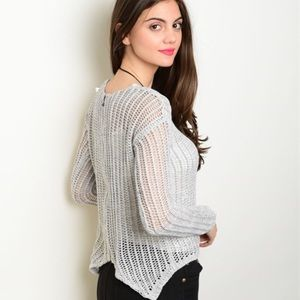 Sweaters - Split Sweater