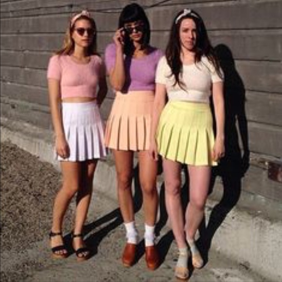 924aabebb5 American Apparel Dresses & Skirts - American Apparel pleated school girl  skirt