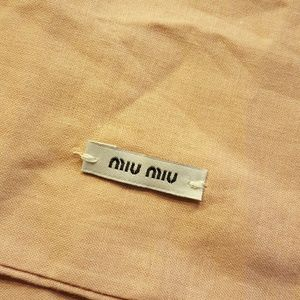 2bccc2ab1bfb Miu Miu Other - Miu Miu drawstring dust bags. 1 pair.