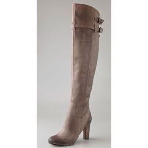 Sam Edelman Shoes - Sam Edelman taupe over the knee boots