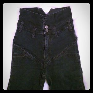 Cheap Monday Denim - Cheap Monday Super High Waisted Jeans. Size 24.