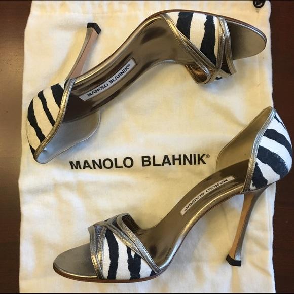 38.5 manolo blahnik heels