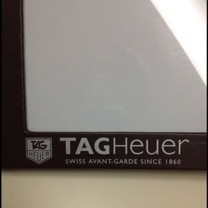 Tag Heuer Other - Tag Heuer 8 x 10 stand up photo frame authentic