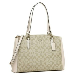 Coach Handbags - Large Christie Carryall in Signature