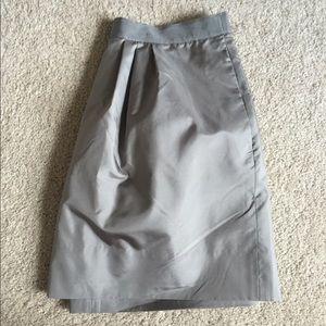 J Crew 100% Silk Skirt