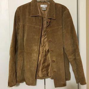 Tan Leather Spiegel Jacket