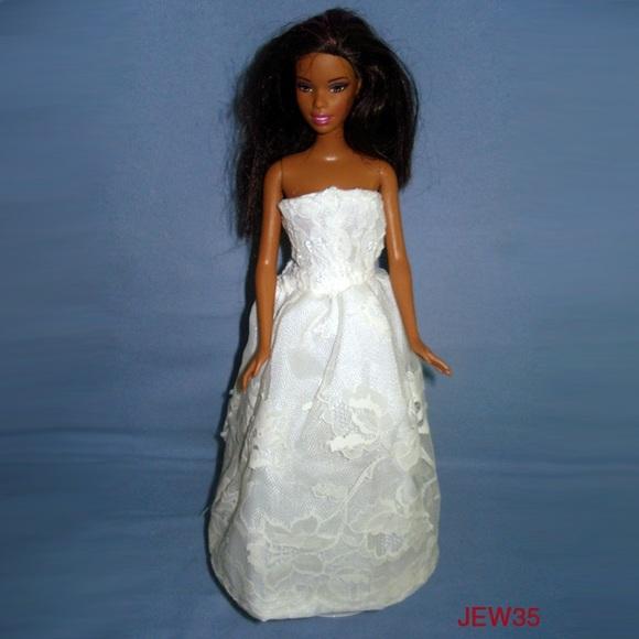 Barbie Other   Handmade Wedding Gown   Poshmark