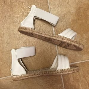 Shoes - White Espadrilles Sandals