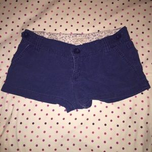 Heritage Pants - Royal blue shorts