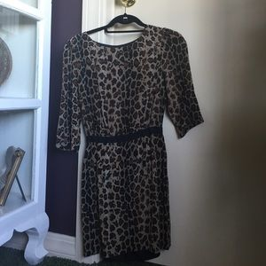 camilla & marc Dresses & Skirts - Camilla and Marc Leopard Dress - Size 0