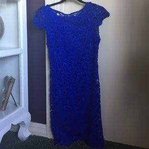 Alice and Olivia Blue Dress, Size 0