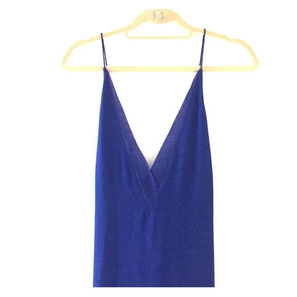 5a8a056e51e1 Dion Lee Dresses | Sheer Fine Line Cami Dress Marine | Poshmark
