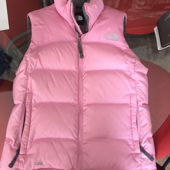 ... reduced light pink north face fest puffer jacket 53fe4 65d0c discount  ... 83a0847e3