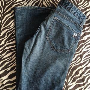 Salt Works Avenue A Low Rise Flare jeans