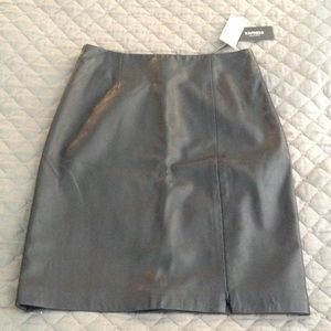 Express Dresses & Skirts - Leather pencil skirt from Express