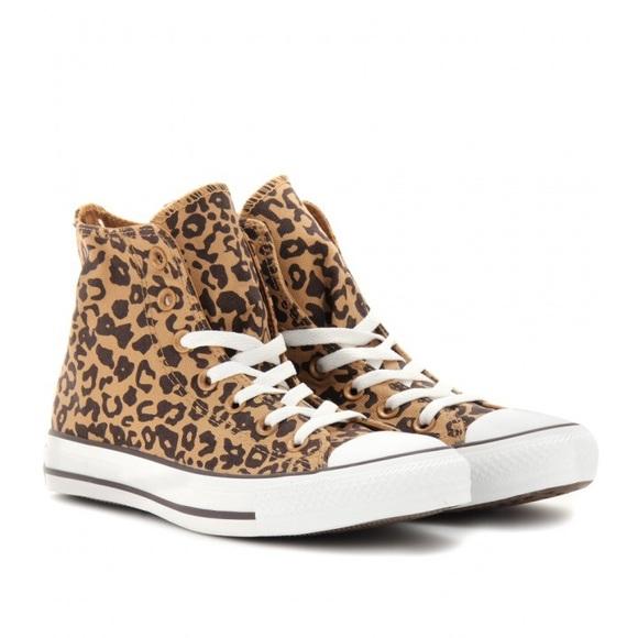 Converse Shoes | Leopard Print Converse
