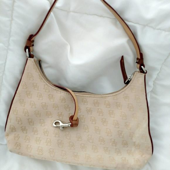 b1b0786a03f0 Dooney   Bourke Handbags - Dooney   Bourke mini short shoulder bag beige