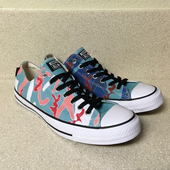 57cb2639 Converse(Andy Warhol) All Star Ox Camo Sneakers