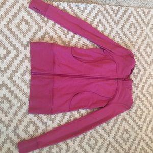 Lululemon Pink Zip-Up Hoodie
