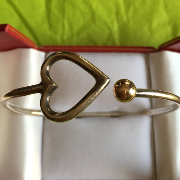 EDEN HEART WITH GOLD BALL CAPE COD BRACELET OS From Cori's