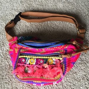 Aldo Handbags - ALDO tribal print fanny pack