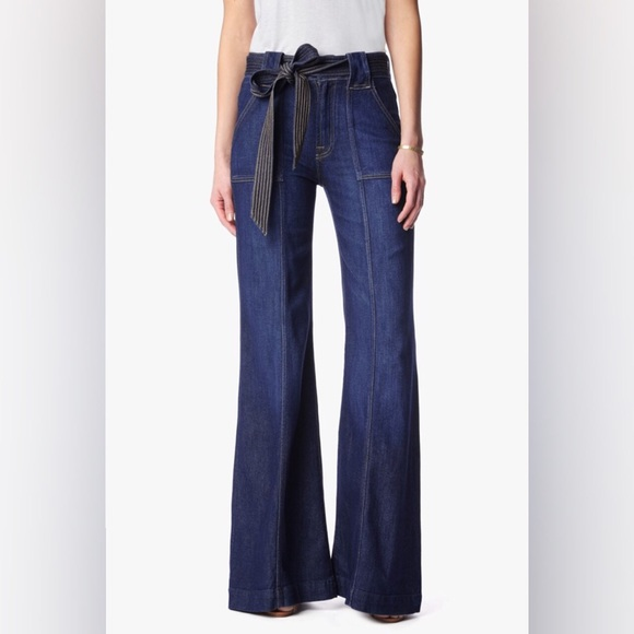 80% off 7 for all Mankind Denim - 7 For All Mankind // bell bottom ...